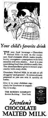 Borden's Chocolate Malted Milk