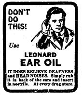 Leonard Ear Oil