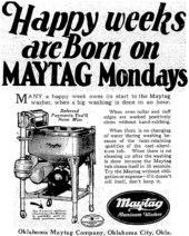 Maytag Mondays